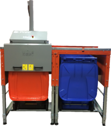 ORWAK FLEX 4360_front angle two bins